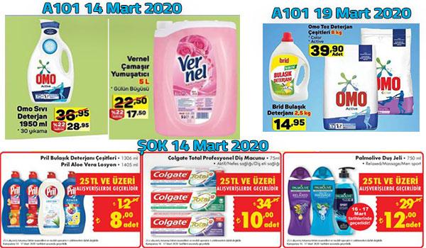15-17 Mart Temizlik Ürünleri İndirimleri