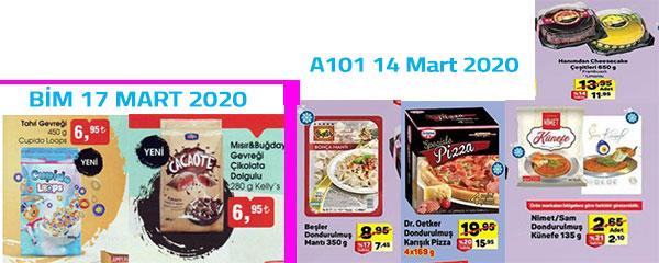 15-17 Mart Hazır Gıda Ürünleri İndirimleri