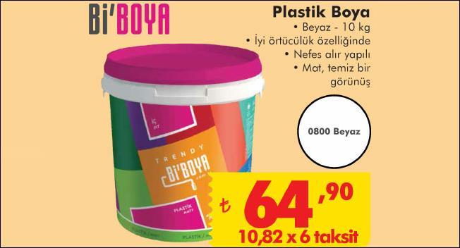plastik duvar boyası