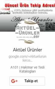 Google_Plus_Aktüel_Ürünler