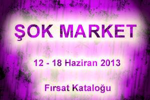 Şok Market 12 Haziran 2013 Logosu