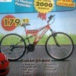 A101 13 Haziran 26 Jant Bisiklet 179,95 TL