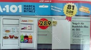 A101 Altus AL-305 Tezgah Altı Buzdolabı