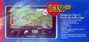 A101 20 Haziran Piranha Navigasyon Cihazı 139 TL