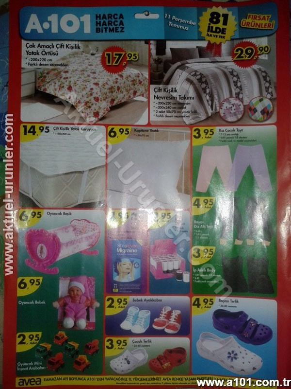 A101 11 Temmuz 2013 aktüel Katalogları
