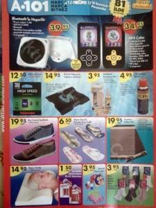A101 18 Temmuz 2013 Liste ve Katalogları