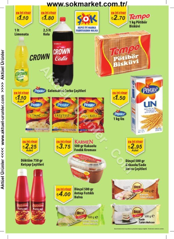 Şok Market 10 Temmuz 2013 son sayfa