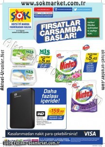 ŞOK 21 Ağustos 2013 Aktüel Ürünler Kataloğu