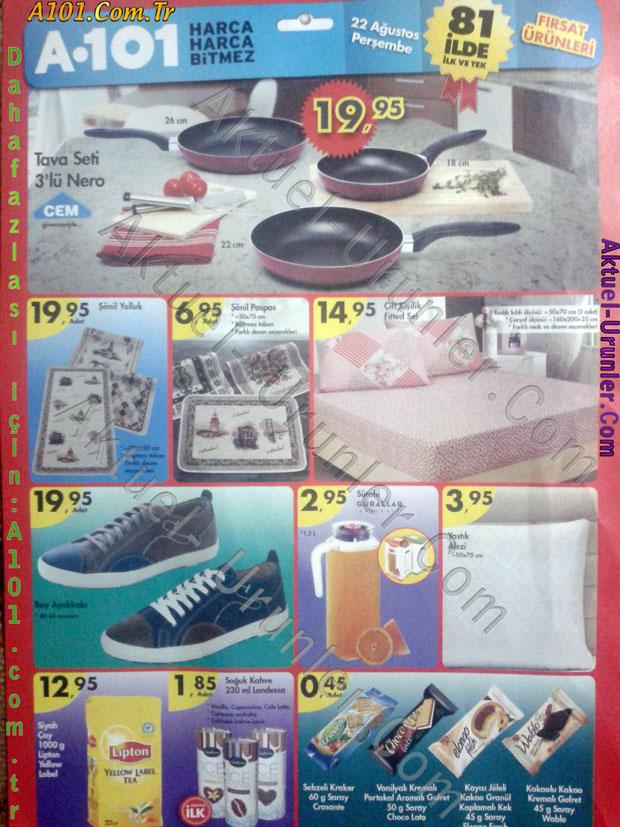 A101 22 Ağustos 2013 Aktüel Ürünleri sf1