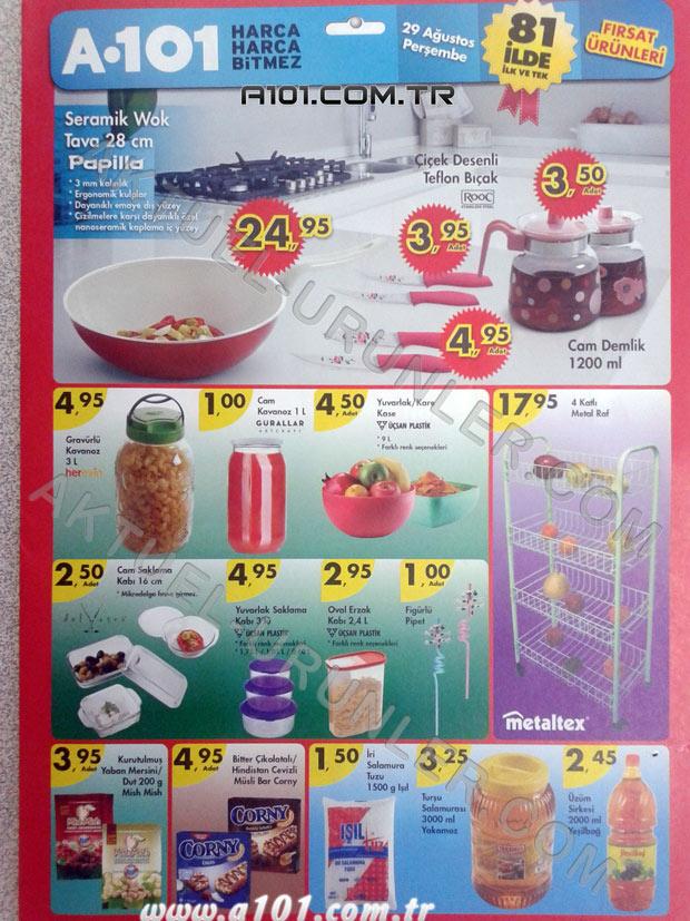 A101 29 Ağustos 2013 Aktüel Ürünleri Sayfa_1