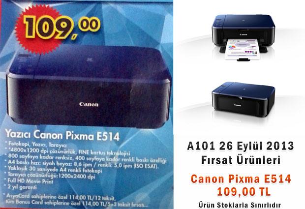A101 Canon Pixma E514 Yazıcı