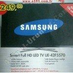 A101 Samsung Smart Full HD LED TV UE-42F5570
