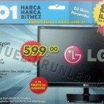 LG MN33 LED Televizyon