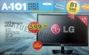 A101 Aktüel 3 Ekim LG MN33 LED Televizyon
