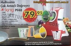 A101 King P948 Multissimo Doğrayıcı