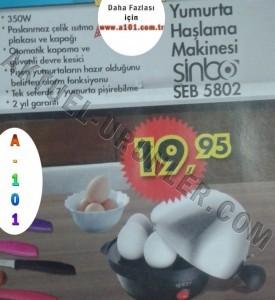 A101 Sinbo SEB 5802 Yumurta Haşlama Makinesi
