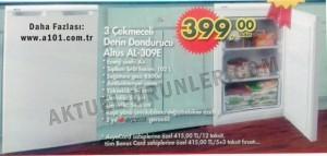 A101 Altus AL-309E 3 Çekmeceli Derin Dondurucu