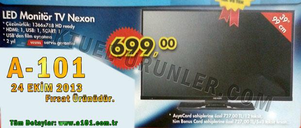Nexon LED Monitör TV A101 24 Ekim