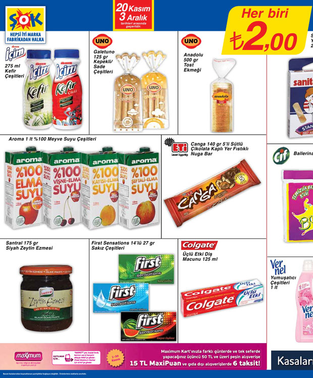 Şok Market 20 Kasım 2013 Aktüel Katalogu 11