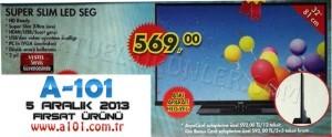 A101 Super Slim LED SEG TV 5 Aralık 2013