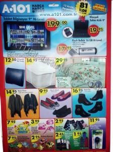 A101 12 Aralık 2013 Aktüel Ürünler Kataloğu
