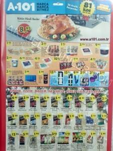 A101 26 Aralık 2013 Aktüel Ürünler Kataloğu