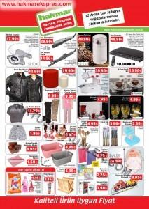Hakmar 12 Aralık 2013 Aktüel Katalogları