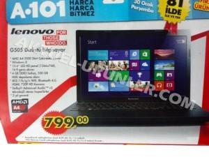 A101 Lenovo G505 Dizüstü Bilgisayar