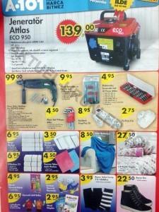 A101 9 Ocak 201 Aktüel Ürünler Katalogu