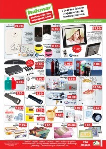 Hakmar 9 Ocak 2014 Aktüel Ürün Katalogları