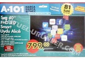 A101 SEG 40′ Smart Uydu Alıcılı Full HD LED