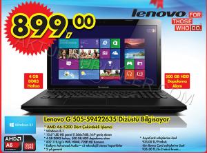 A101 Lenovo G505-59422635 Dizüstü Bilgisayar