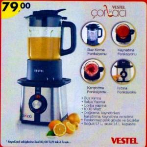 A101 8 Mayıs 2014 Vestel Çorbacı Ürünü