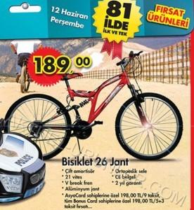 A101 26 Jant Bisiklet 12 Haziran 2014