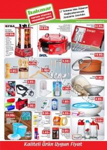 Hakmar 17 Temmuz 2014 Aktüel Ürünleri