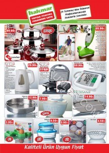 Hakmar 24 Temmuz 2014 Aktüel Ürün Katalogu
