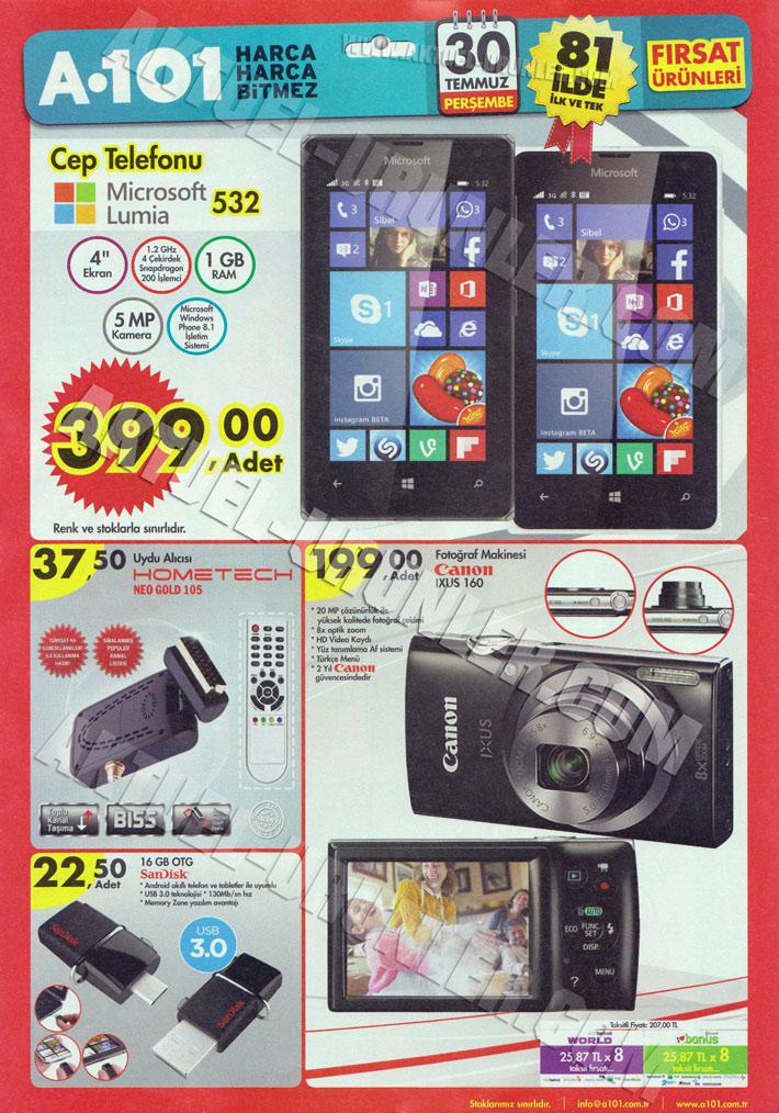 A101 30 Temmuz Microsoft Lumia 532 Aktüel-1