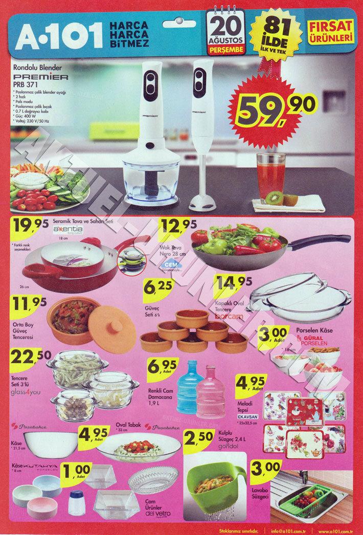 A101 20 Ağustos Aktüel Ürün Kataloğu Blender-4