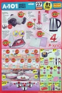 A101 27 Ağustos 2015 Aktüel Ürün Katalogu King 4