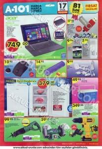 A101 17 Eylül 2015 Aktüel Ürünler Kataloğu