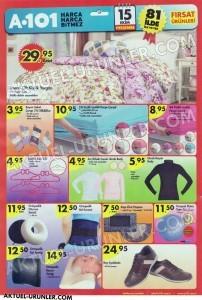 A101 15 Ekim Aktüel Ürünleri Ev Tekstili