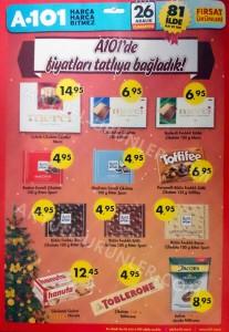 A101 26 Aralık Aktüel Hafta Sonu 1 - Tatlı Fiyatlar