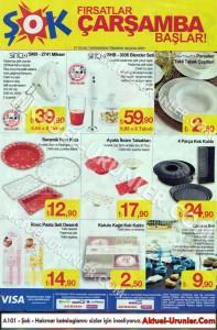Şok 27 Ocak Aktüel Mutfak Ürünleri Sayfası