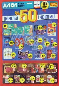 A101 11 Şubat Yüzde Elli Aktüel Ürünleri Sayfası