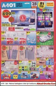 A101 28 Ocak 2016 Aktüel Ürünler Kataloğu