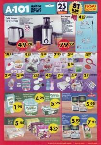 A101 25 Şubat Aktüel Su Isıtıcı & Meyve Sıkacağı & Mutfak Ürünleri