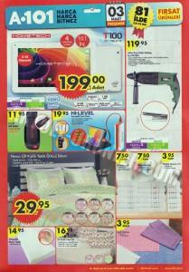 A101 3 Mart 2016 Aktüel Ürünler Kataloğu
