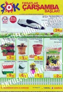 Şok 16 Mart Sinbo Saç Kesme ve Bahçe Aktüel Ürünleri