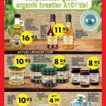 A101 7 Nisan Organik ve Leziz Gıda Aktüel Ürünleri