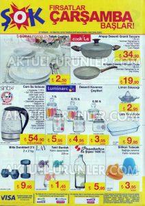 ŞOK 27 Nisan Porselen - Cam Aktüel Ürünler